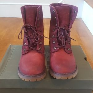 Timberland fold over boots
